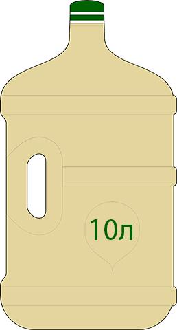 Варианты розлива Экстракта Сапропеля (жидкого ЭС-2): 10 литров