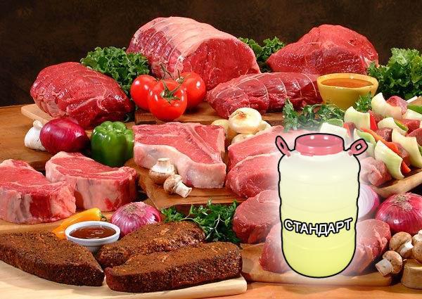 Фосфатные смеси для мяса и мясной промышленности от компании ЗАО Респект - Cтандарт смесь фосфатов (Е-451, Е-450, Е-452), эриторбат Na (Е-316), лимонная кислота (Е-330) увеличение выхода готовой продукции на + 15÷20 %