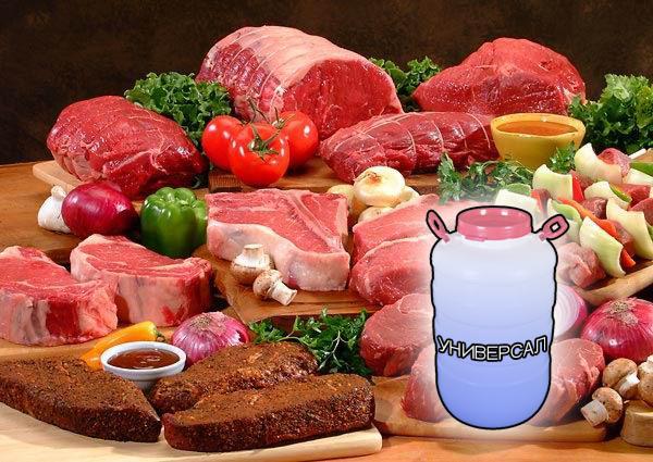 Фосфатные смеси для мяса и мясной промышленности от компании ЗАО Респект - Универсал смесь фосфатов (Е-451, Е-450, Е-452), эриторбат Na (Е-316), лимонная кислота (Е-330), рафинированный каппа-каррагинан (Е-407), цитрат Na (Е-331), смесь гидроколлоидов (Е-412, Е-415), загуститель (Е-508), моноглицериды жирных кислот (Е-471), эфиры монодиглицеридов (Е-472) увеличение выхода готовой продукции на + 35÷40 %