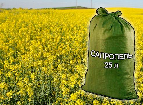 Почвогрунты, грунты и удобрения для растениеводства и садоводства от компании ЗАО Респект - Сапропель натуральный 25 л