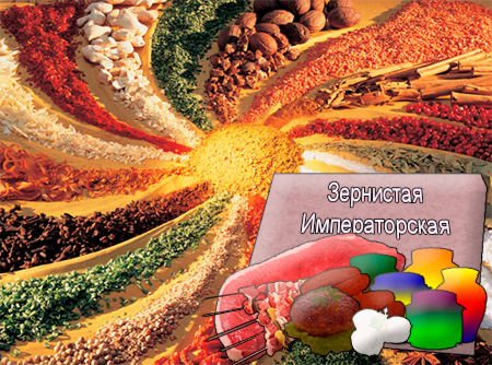 Смеси специй для мясной промышленности от компании Респект - Зернистая Императорская для полуфабрикатов, Смеси натуральных специй, их масел и экстрактов: черного перца, кориандра, тмина, чеснока; декстроза, усилители вкуса (Е-621; Е-627; Е-631)