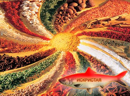 Смеси специй для рыбы от компании ЗАО Респект - декоративные спеси для обсыпок, Смесь пряностей, с основной нотой: перца красного жгучего, моркови, кунжутного семя