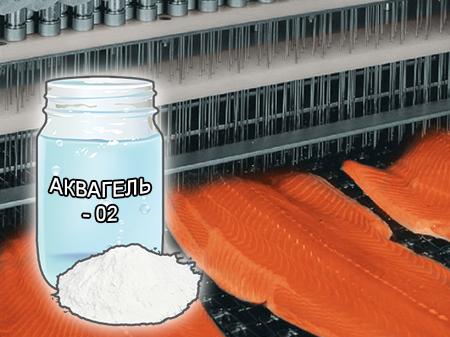 Гель - желирующие смеси и стабилизаторы для мясопереработки от компании ЗАО Респект - Аквагель - 02 - состав Рафинированный каппа-каррагинан (E-407), загуститель (E-508), молочные белки, молочный сахар, мальтодекстрин